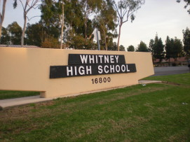 Whitney High School hauls in another national honor.