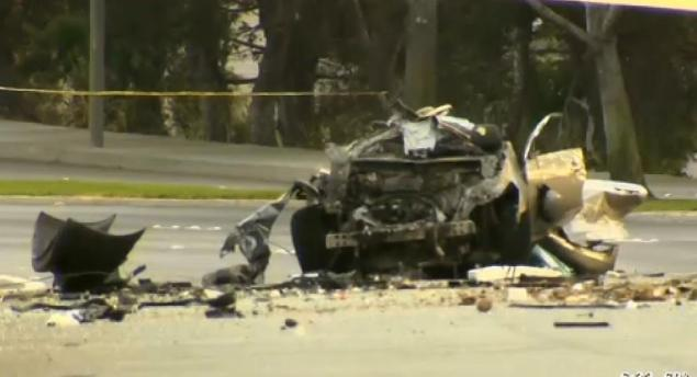 Photo of accident from CBS News.