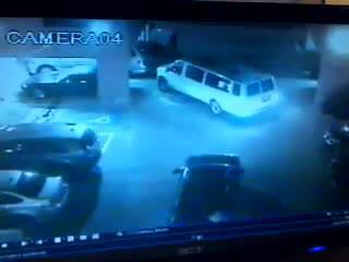 "Footage captures ""Flock of Seagulls"" stolen vehicle in Downey, California"
