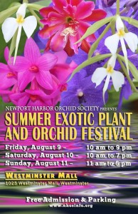 Summer Exotic Plant and Orchid Festival