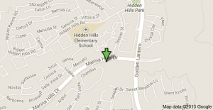 Location of shooting in Laguna Niguel on Tuesday night.
