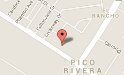 Location of murder in Pico Rivera.