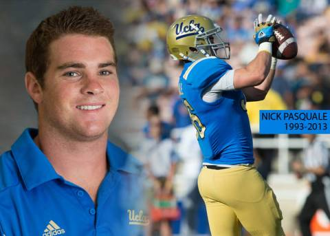 UCLA Football Player Nick Pasquale Passes Away. Courtesy UCLA Athletics