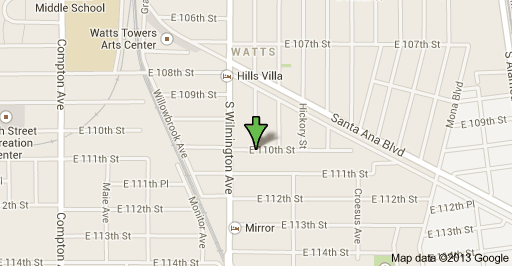 Location of shooting in Willowbrook on Wednesday night.