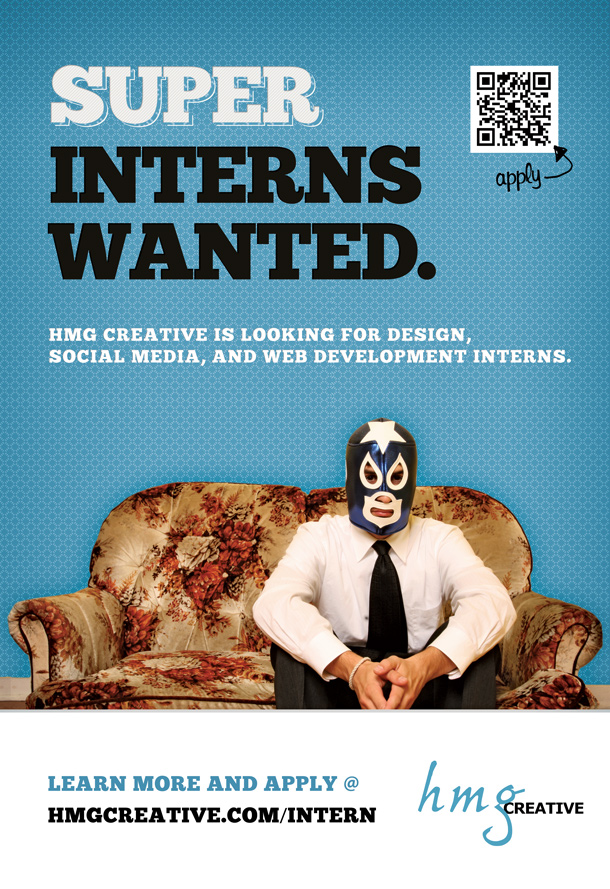 HMG Creative - Seeking Social Media/ Marketing, Web/ Design Interns