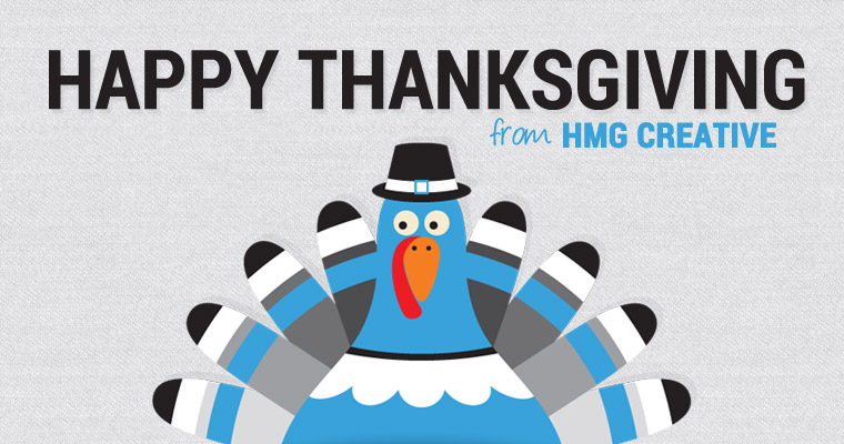 Happy Thanksgiving From HMG!