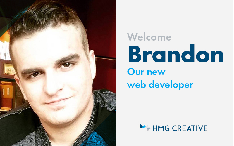 Meet Brandon, Our New Web Developer