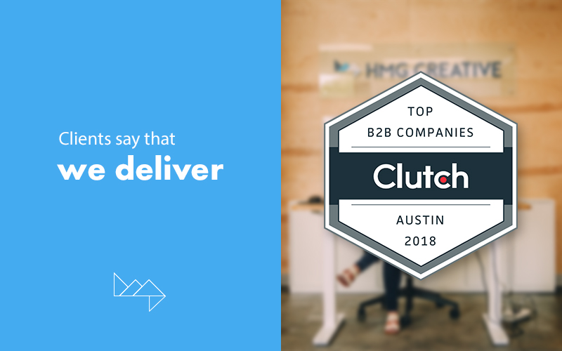 HMG Named In The Top 5 Creative Agencies Of ATX On Clutch
