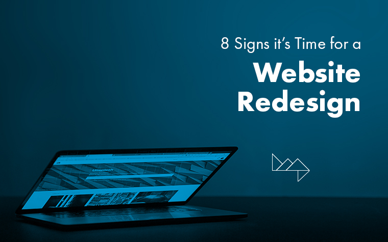 Is your website holding back your business? 8 signs it's time for a redesign…