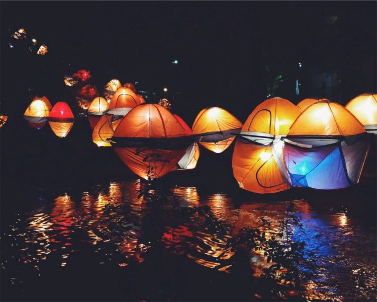 Creek Show Light Installation