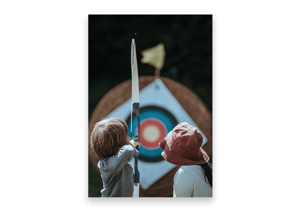 Retargeting, Child Learning Archery