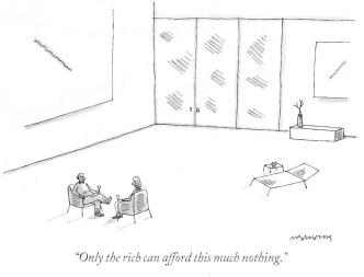 Wealthy Nothings