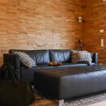Spaltholzwand In Eiche Referenzen Hammer Margrander Interior