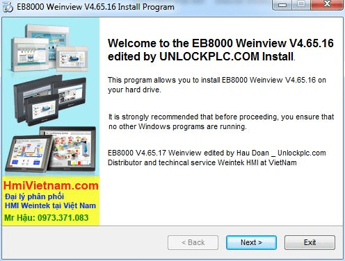 EB8000 Weinview install