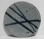 "approx. 14"" diameter, 2.25"" tall, 580 stoneware"