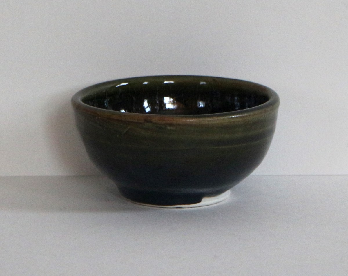dark finger bowl
