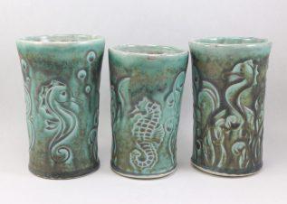seahorse cups
