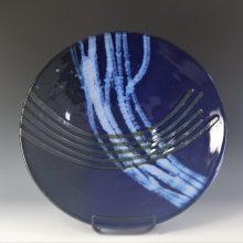 Blue lines bowl