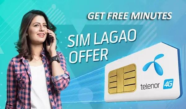 Telenor SIM Lagao Offer or Telenor Band SIM Offer