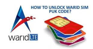 Unlock-Warid-SIM-PUK-Code