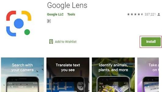 Google Lens App Download