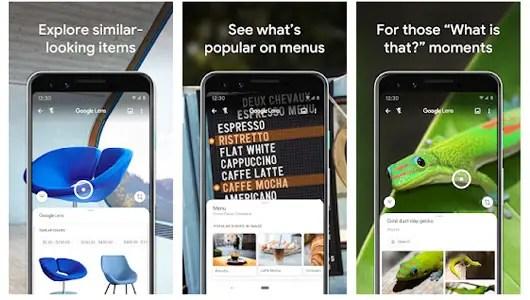 Google Lens App Google Image Recognition App