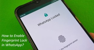 How to Enable WhatsApp Fingerprint Lock