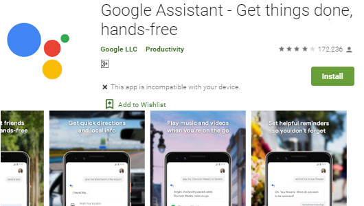 Download Google Assistant App