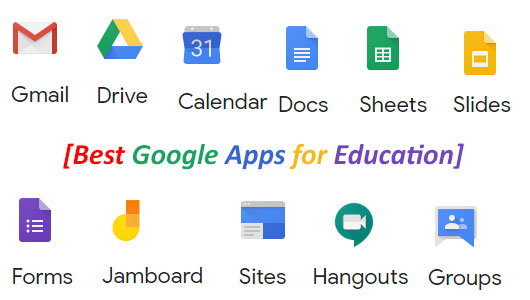 Top Google Apps for Education