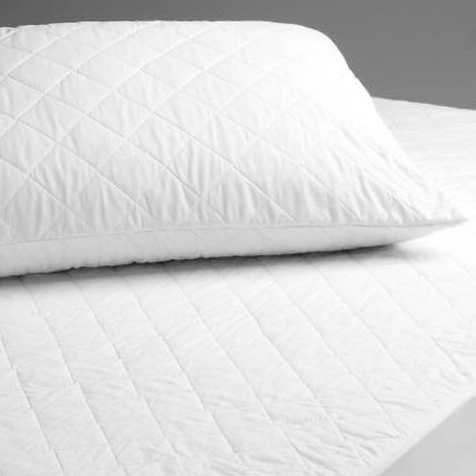 elainer natural cotton quilted 200gsm filling pillow protector