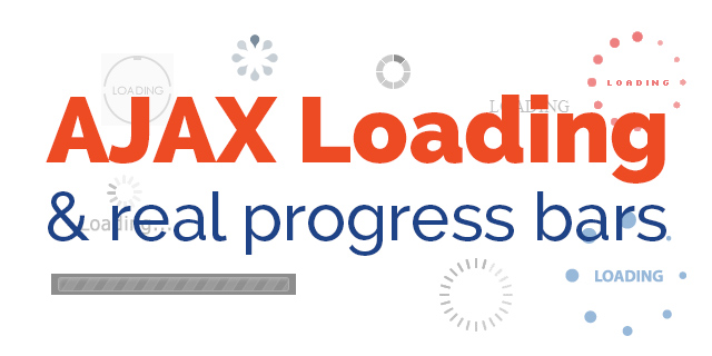 How to update the browser on the status of an AJAX process | hmp is it