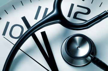 Doctors are on the clock