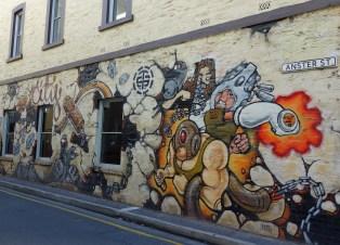 Lots of street art