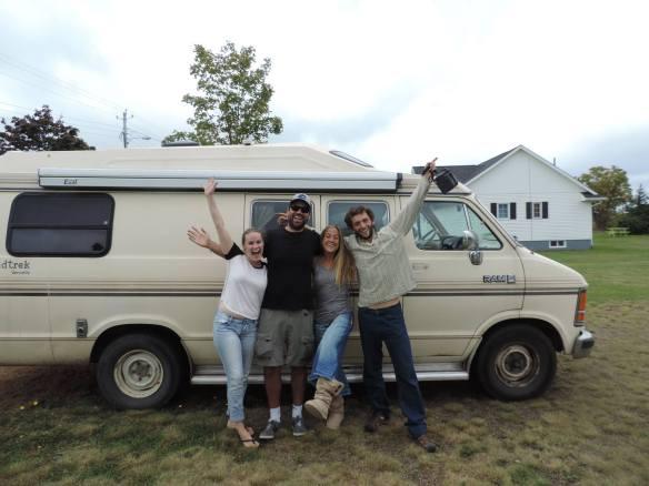 the new old van