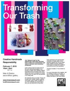 Transforming Our Trash