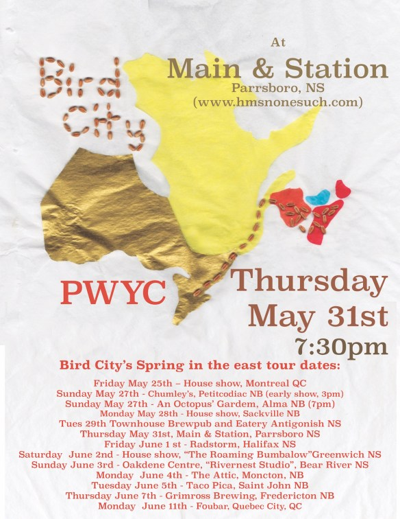 Bird City Parrsboro poster