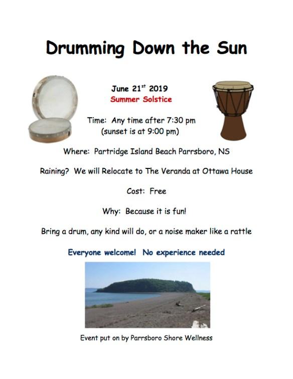 Drumming down the Sun2
