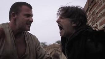 Hazen stabs King Tervin offscreen.
