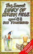 The cover for the first book of Sue Townsend's Adrian Mole series.