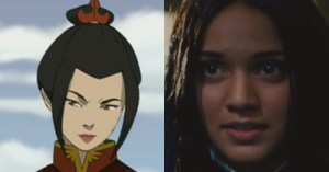 Princess Azula compared with her inferior counterpart from the movie.