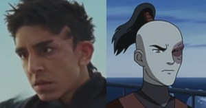 Prince Zuko compared with his inferior counterpart from the movie.