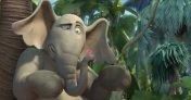 Horton the elephant in the horrible CGI adaptation.