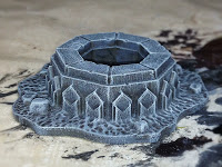 A Games Workshop terrain piece from The Mines of Moria