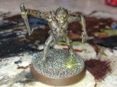 A Games Workshop mountain goblin.