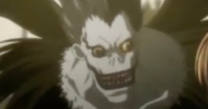 Ryuk the shinigami.