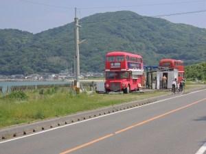 糸島二階建てバス