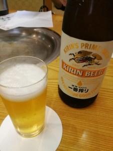ビール一番搾り