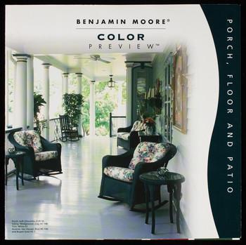 benjamin moore color preview porch