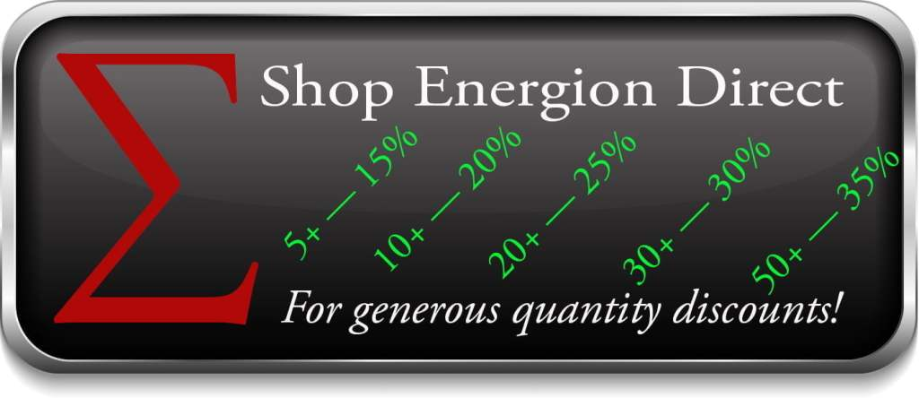 Buy from Energion Direct for generous quantity discounts
