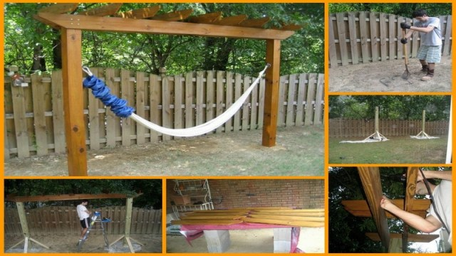 15 DIY Hammock Stand to Build This Summer – Home and Gardening Ideas ...